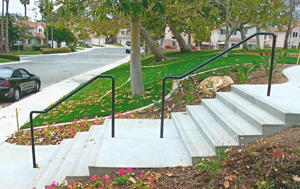 Black ADA Handrail