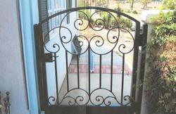 English Scroll Iron Gate
