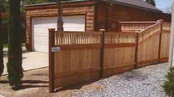 Custom Wood Fence
