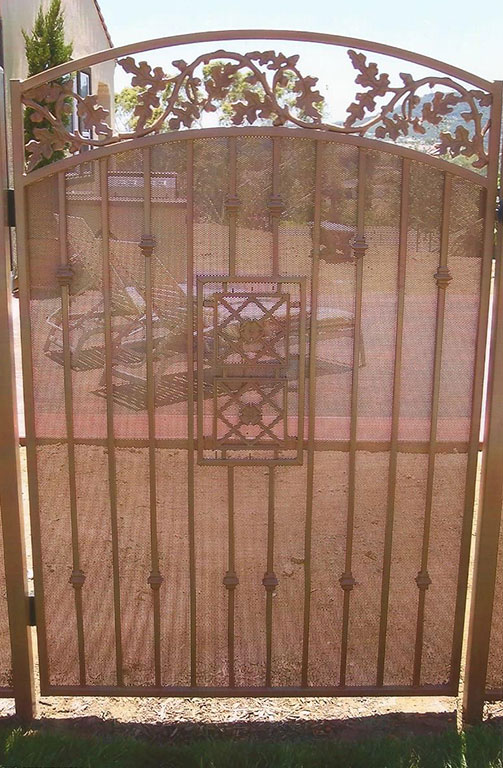 Custom Japanese Iron Gate
