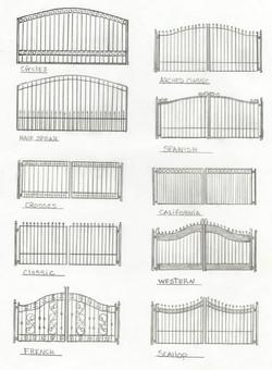 Custom Iron Fence Designs