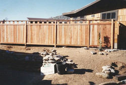 Cabin Fence