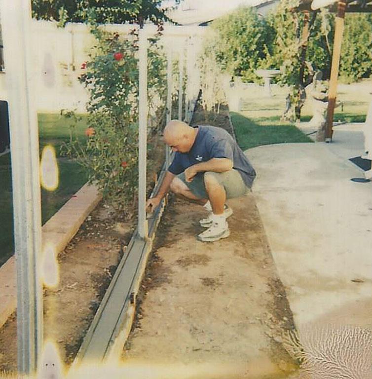 Mow Curb Installation