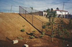 California Style Iron Fence