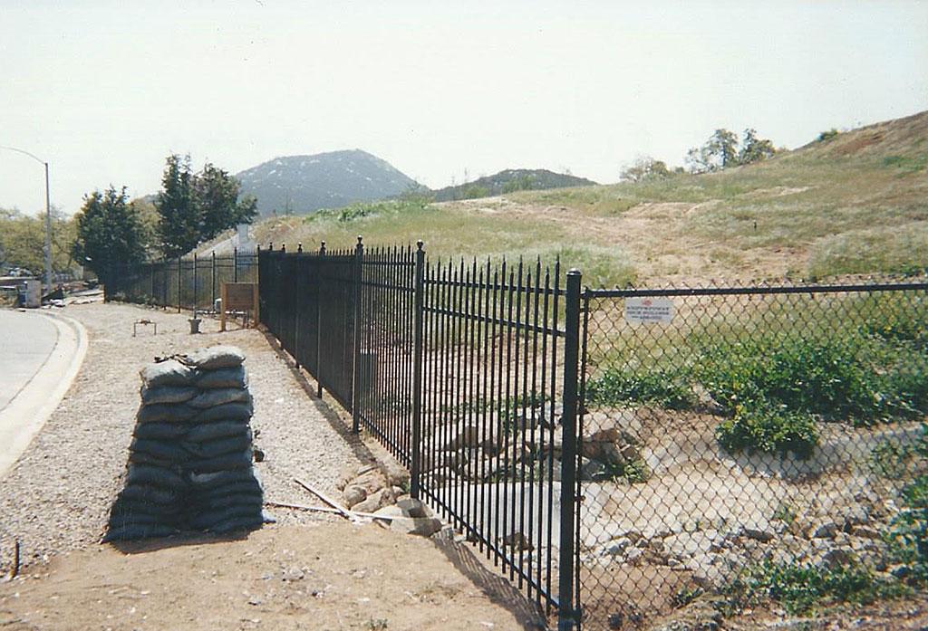 Alternating Picket Custom Iron Fence