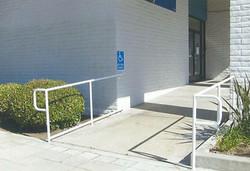 White ADA Handrail