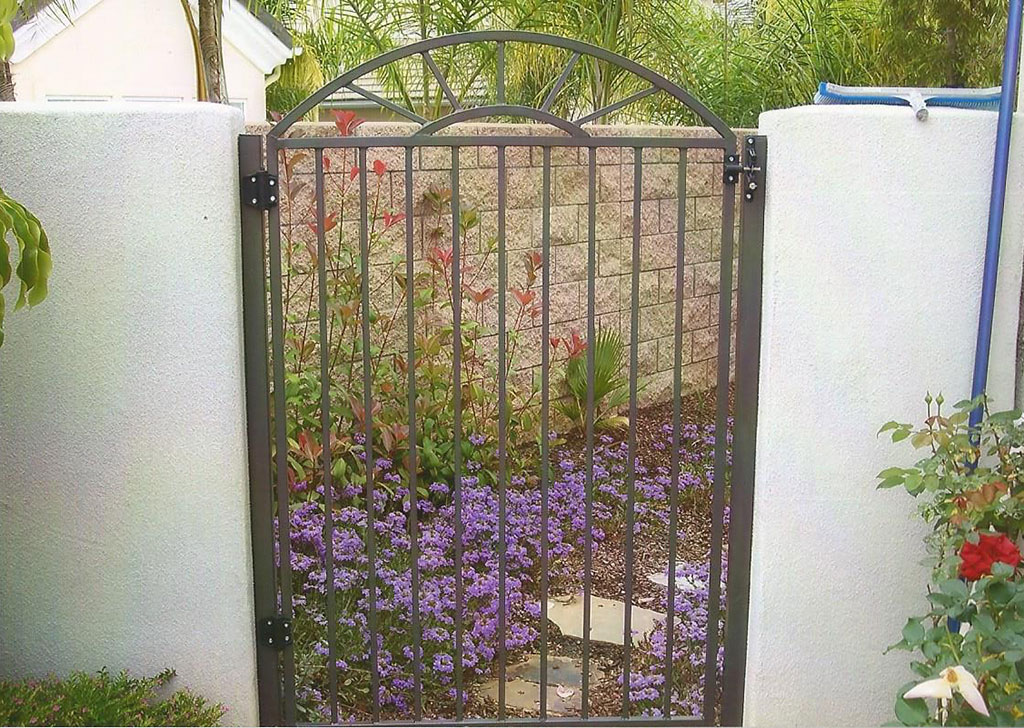 Sunburst Iron Gate