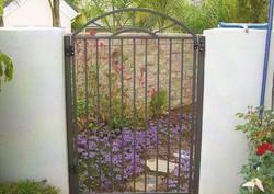Sunburst Iron Gate