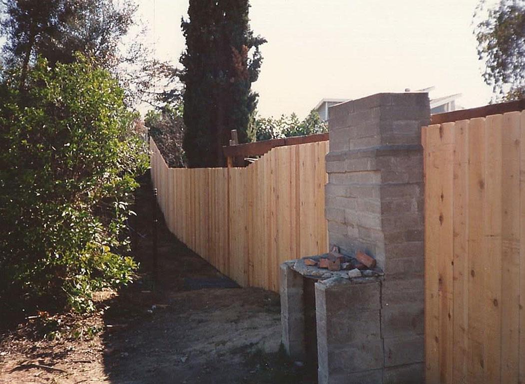 Single Panel Dogear Fence