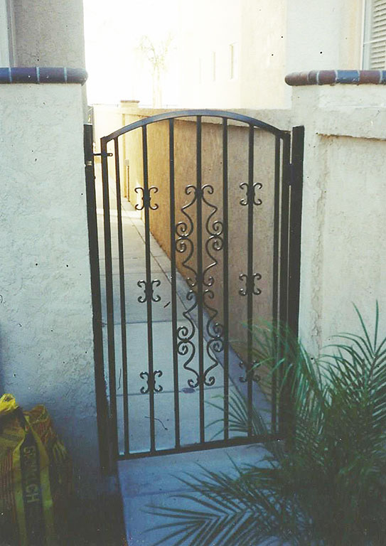 Custom Spanish Iron Gate