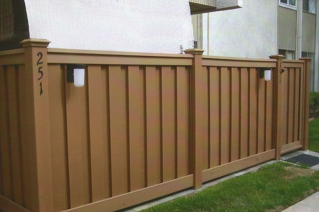 Trex Composite Patio Fencing