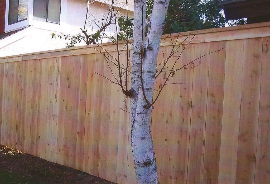 Single Panel Top Cap Fence