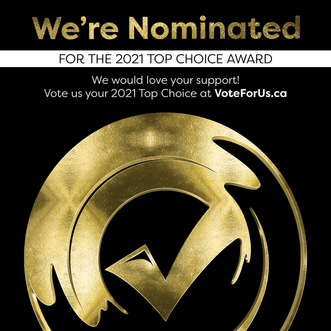 We're Nominated