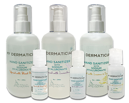 My Dermatician Hand Sanitizer with Sodium Hyaluronate
