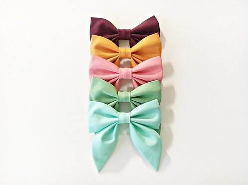 Sailor bows,Hair bow clip,Hair bow clips for women
