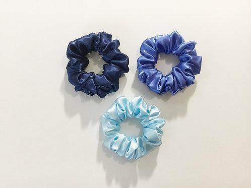 Satin scrunchies,Ponytail holder,Hair tie accessories