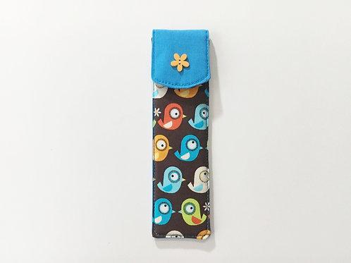 Pen case holder,Small pencil case,Pen pouch,Soft pen holder