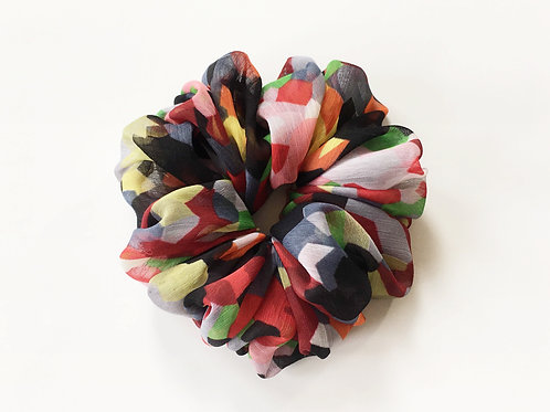 Georgette scrunchies Extra large size,Ponytail holder,Hair tie accessories