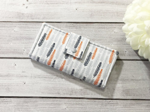 Women's wallet,Slim Bifold wallets,Unique fabric wallet