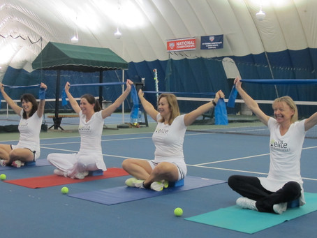 Week 9: Warming up with Yoga for Tennis