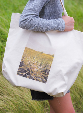 Pineapple Fields Tote Bag
