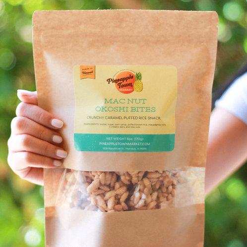 Mac Nut Okoshi Bites