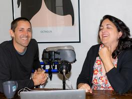The Conversation Begins: Elizabeth Aquino and Jason Lehmbeck