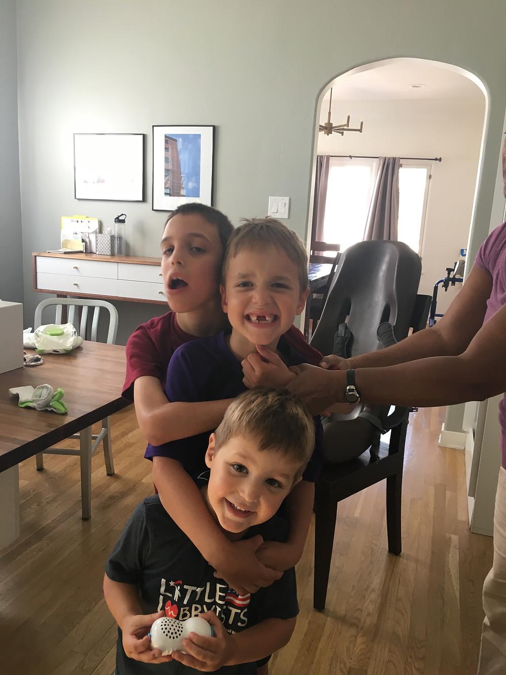 Jason's Three Little Monkeys
