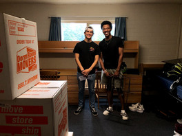 College Roommates With Sibling Bonds -- Henry Beglinger and Toby Okoye