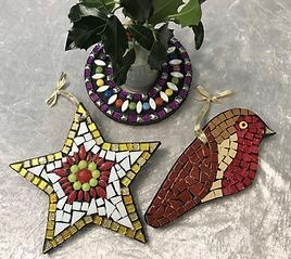 Muddle House Mosaics Childrens Festive M