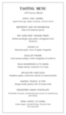 OITOM Official Tasting Menu 2_10 Course-