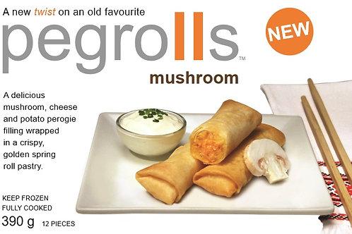 Mushroom Pegrolls