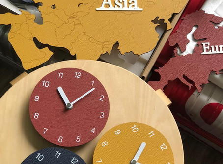 KOREA DESIGN WALL CLOCK