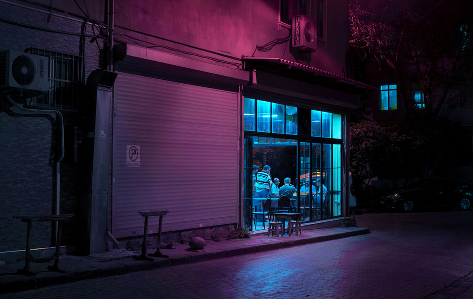 neon night owls, 2019