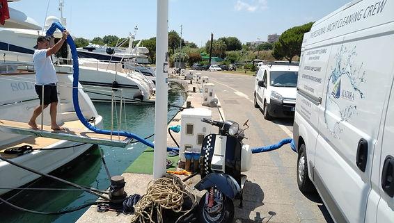 Kadira Yacht Carpet Cleaning