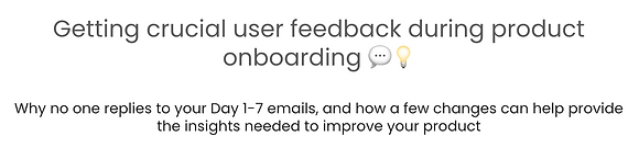 SaaS Onboarding Emails Mini MasterClass