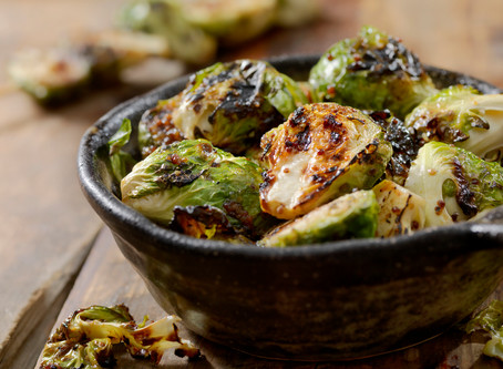 Fire Honey Roasted Brussels Sprouts