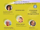 Acompanhe: Diálogos Congemas! Segurança de Renda e Integralidade das Proteções Sociais