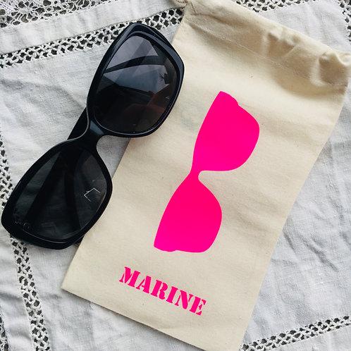 Etui à lunettes - Marine