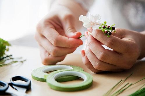 TCS-C3 Online Flower making Workshop