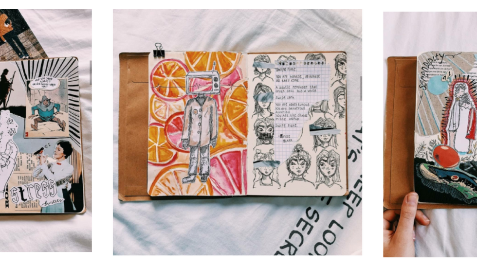 5 Art Journal Accounts you need to Follow