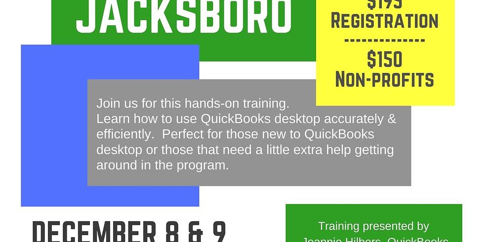 QuickBooks Desktop Training Jacksboro