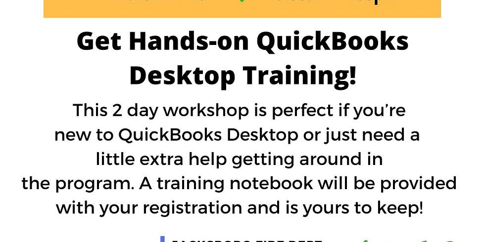 Quickbooks Desktop Training- Jacksboro, TX