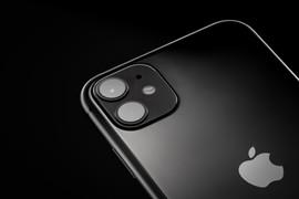 iphone 11 product photogrph