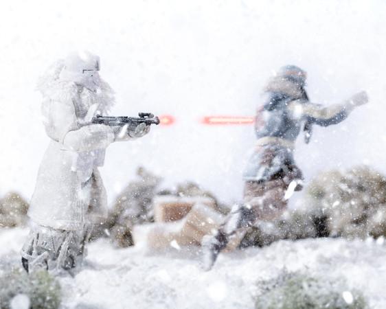 Range Trooper from Star Wars, Black Seri