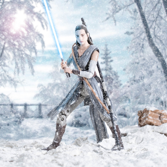 Star Wars, Rey in Training, Black Series
