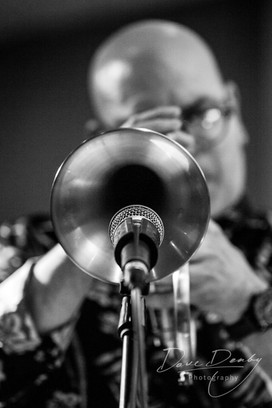 Abstract Jazz Trumpet Photography
