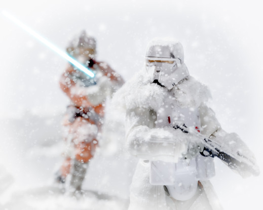 Star Wars Action Figures Photography