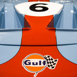 Ford GT40 in Gulf Racing Colors