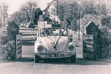 VW Beetle Wedding Car Photography
